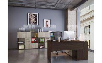 бюро за офис с две чекмеджета