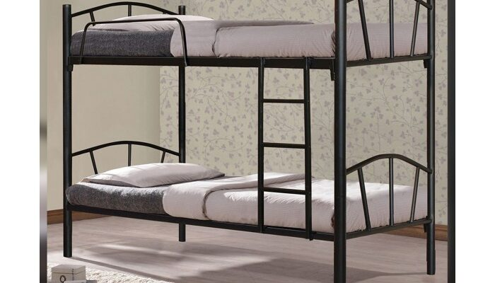 Двуетажно метално легло